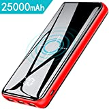 Gnceei Powerbank Wireless Charger 25000mAh 2019...