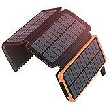 ADDTOP Solar Powerbank 25000mAh, Tragbare Solar...