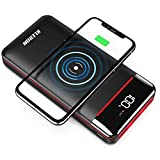 RLERON Powerbank Wireless Charger 25000mAh Hohe...