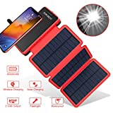 POWOBEST 20000mAh Solar Ladegerät, Wireless...