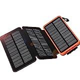 WBPINE Solar Ladegerät Powerbank 24000mAh Outdoor...