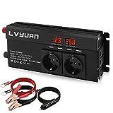 LVYUAN Spannungswandler 12V 230V 800W / 1600W...