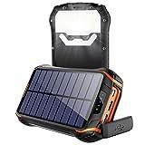 Solar Powerbank 26800mAh Wasserdichte Solar...