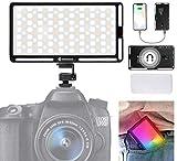 Moman LED-Videoleuchte RGB mit Diffusor, Kamera...