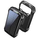 Powerbank Solar 26800mAh Wireless Solar Ladegerät...
