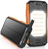 NEXGADGET Solar Powerbank 26800mAh, Externer Akku...