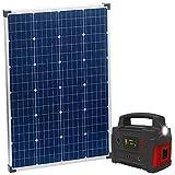 reVolt Solar Set: Powerbank & Solar-Konverter mit...