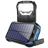 Powerbank Solar Wasserdicht 26800mAh Tragbares...