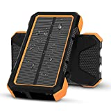X-DRAGON Solar Powerbank 25000mAh wasserdichte...